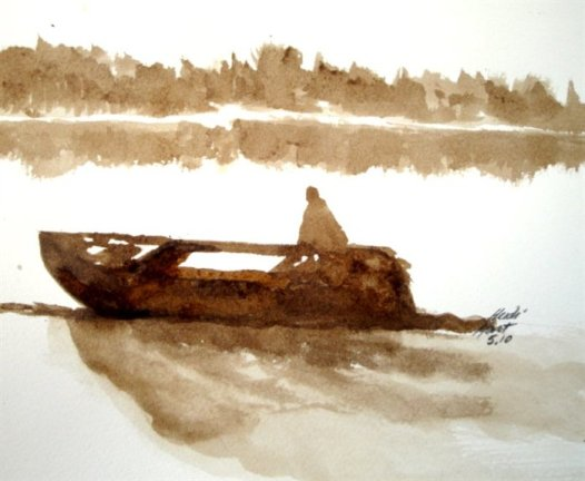 Man in Boat