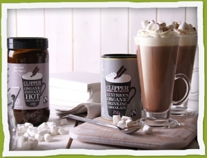 Clipper Fairtrade Organic Instant Hot Chocolate
