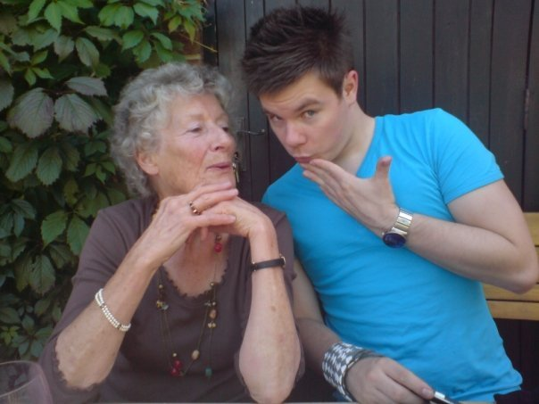 granny and boy