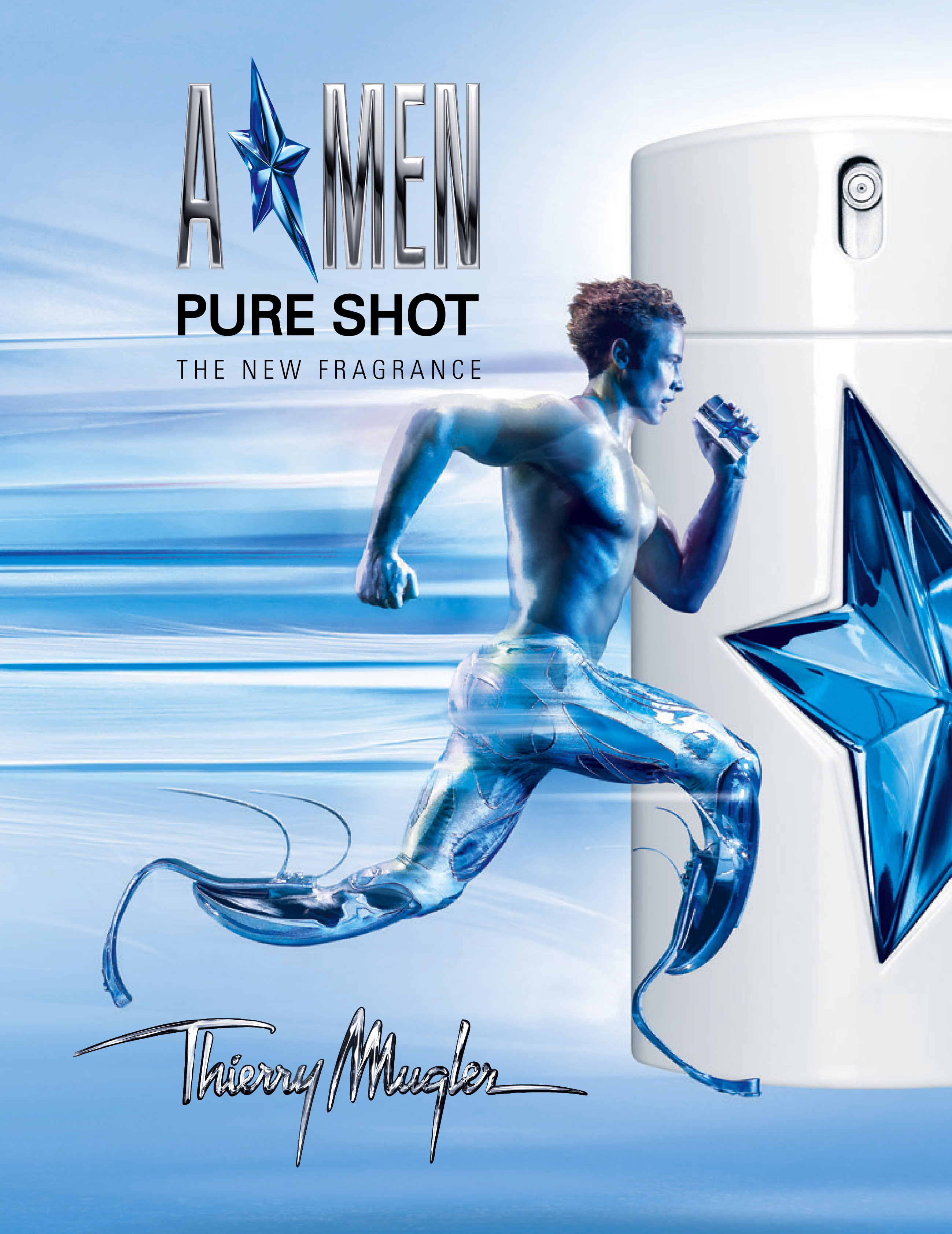 a new generation of comic book hero thierry mugler a men. Black Bedroom Furniture Sets. Home Design Ideas