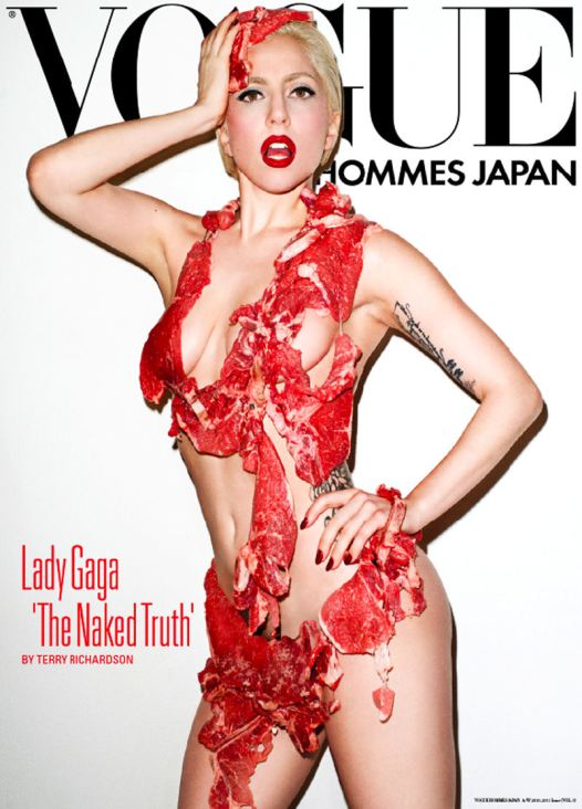 Lady Gaga for Vogue Hommes Japan