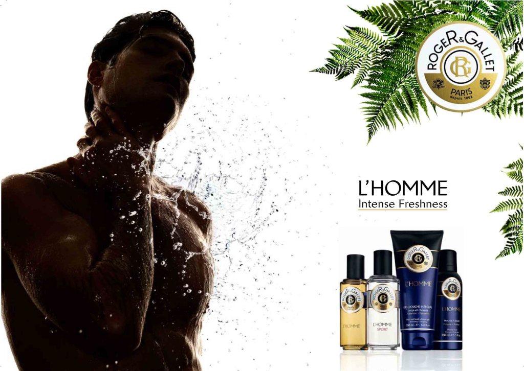 """Roger & Gallet L'Homme & L'Homme Sport - """"Intense Freshness"""""""