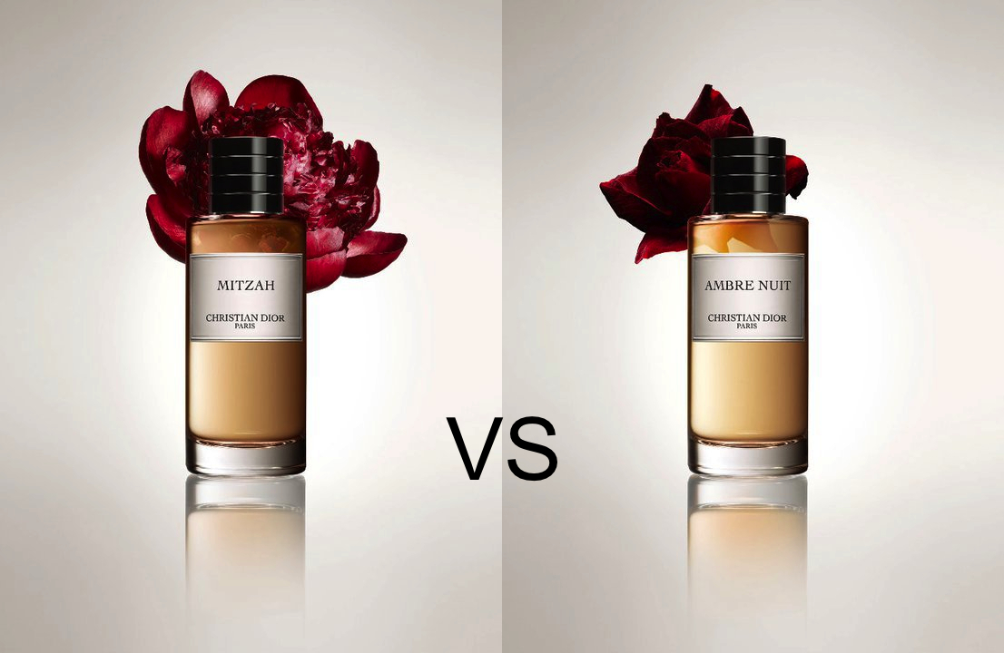 The Dior Amber Showdown Christian Dior Mitzah And Ambre Nuit