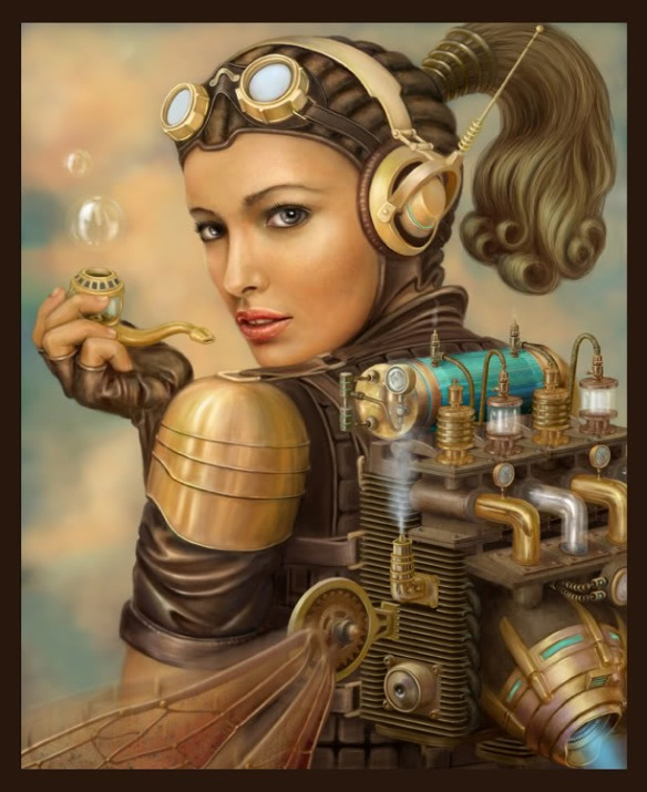 She's a Steampunk Girl...