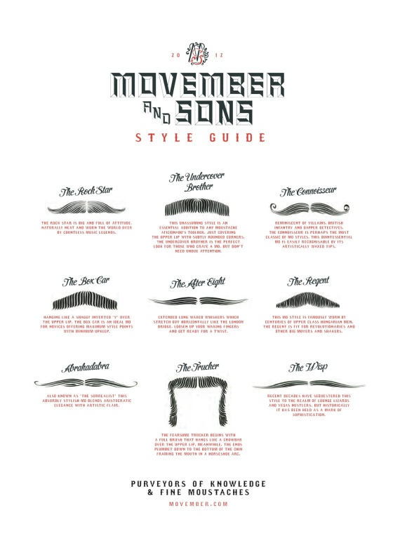 The Movember Style Guide