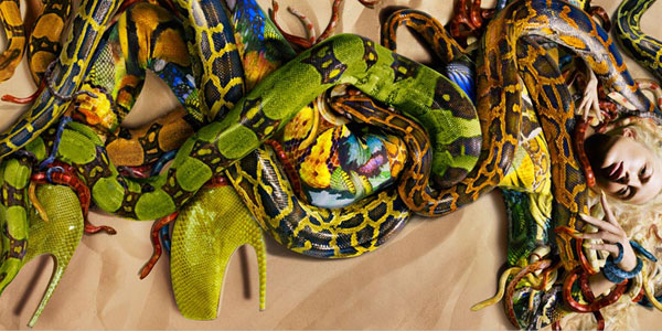 Snake Skin by Alexander McQueen
