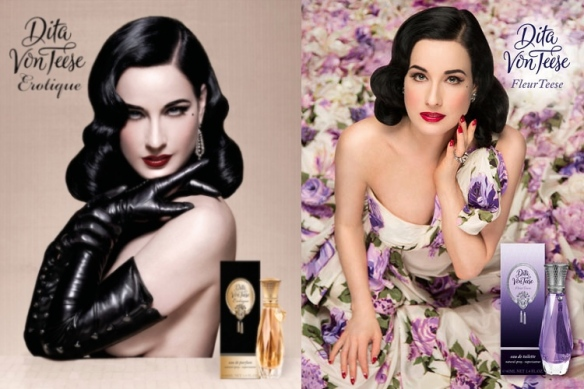 Erotique and FleurTeese by Dita Von Tees
