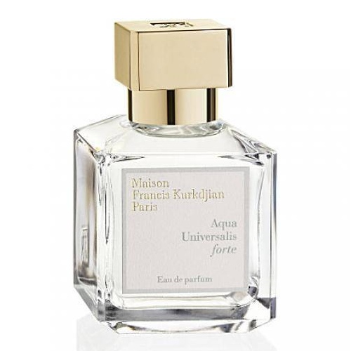 Perfume pic of the week no 4 the wedding scent shortlist for Aqua universalis forte maison francis kurkdjian