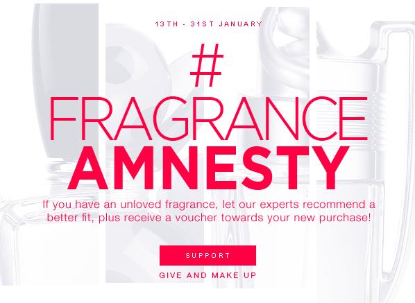 Escentual's #FragranceAmnesty