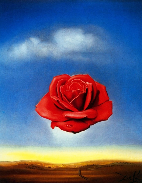 Perfume Pic of the Week: The Meditative Rose by Salvador Dalí