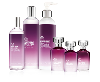 The White Musk Smoky Rose Collection