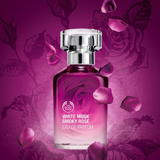 The Body Shop White Musk Smoky Rose Eau