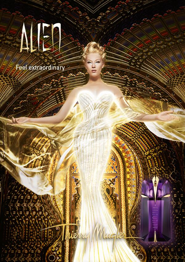 Perfume Pic of the Week No. 8: Thierry Mugler Alien Ad ...