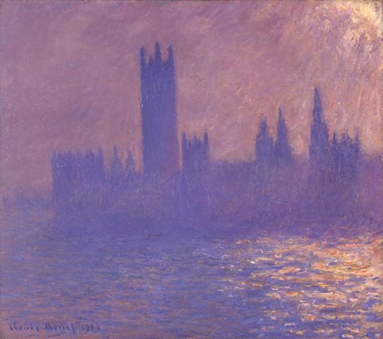 House of Parliament, Effect of Sunlight, 1903
