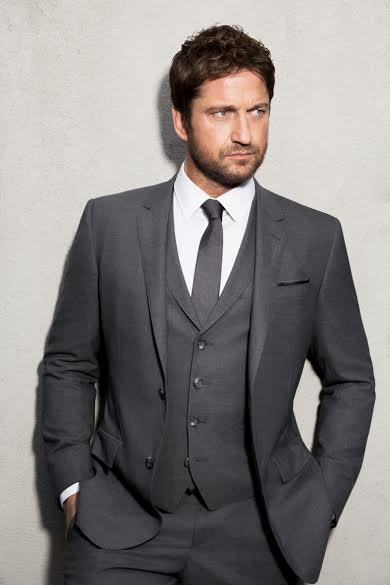 Gerard Butler - The New Face of Hugo Boss Bottled