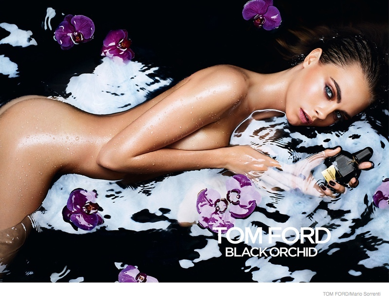 Cara Delevingne for Tom Ford Black Orchid