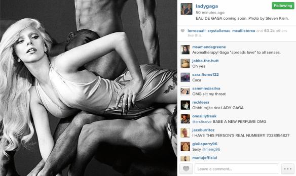 Lady Gaga Teases 'Eau de Gaga'