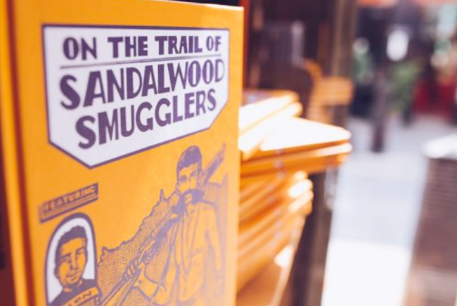 Lush's New Graphic Novel - 'On the Trail of Sandalwood Smugglers'