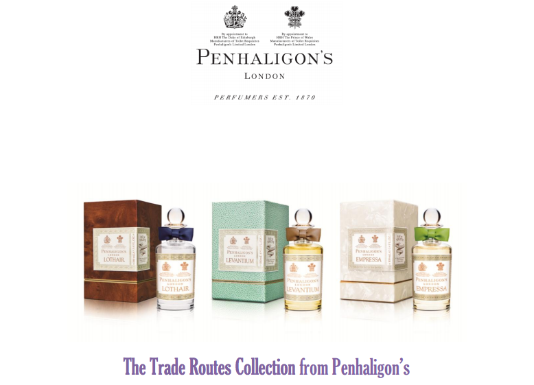 6c1bd2971d4b Smelly News  Penhaligon s to Launch The Trade Routes Collection