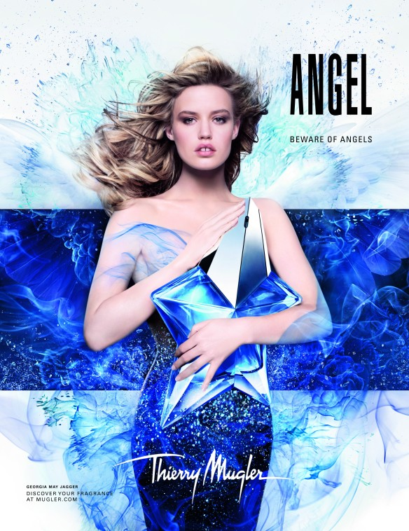 Beware of Angels - Georgia May Jagger for Thierry Mugler's Angel