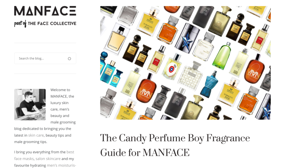 The Candy Perfume Boy & Manface