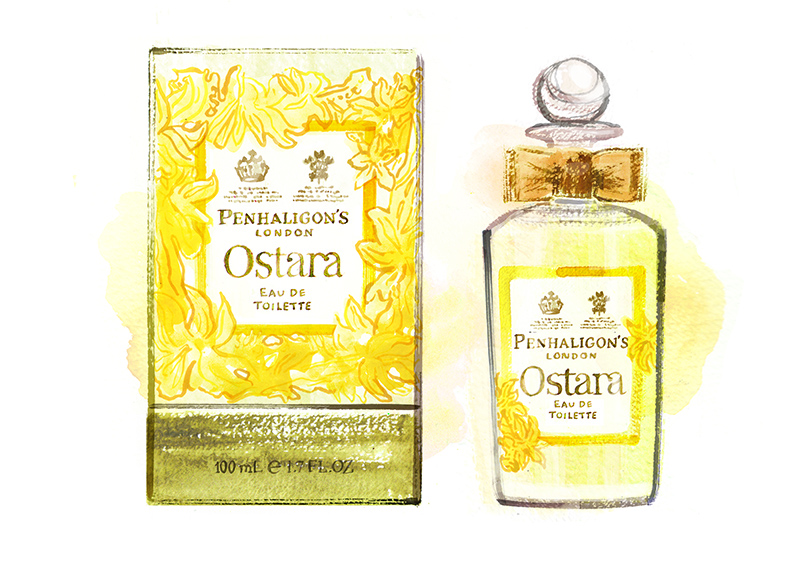 New from Penhaligon's: Ostara Eau de Toilette