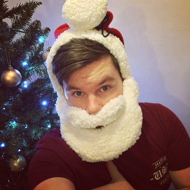 Yep, That's Me, Rocking a #SantaSelfie