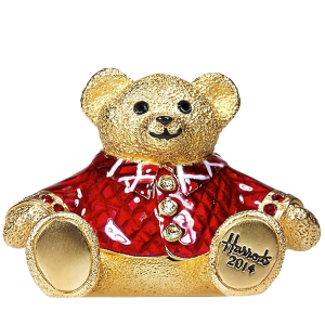 Beautiful Harrods Christmas Bear Compact