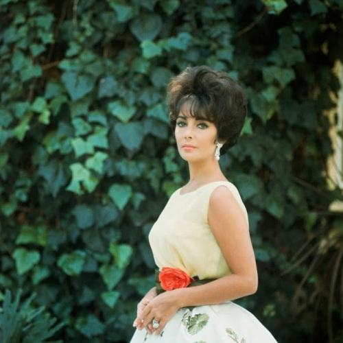 Liz Taylor in Dior (1960)