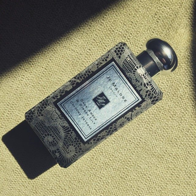 Dark Amber & Ginger Lily Cologne Intense - The Lace Edition