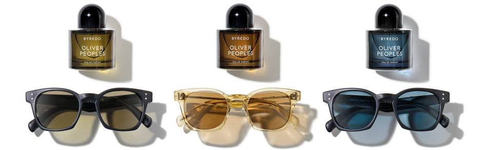 Green, Amber & Blue - The Three Shades of Byredo Oliver Peoples