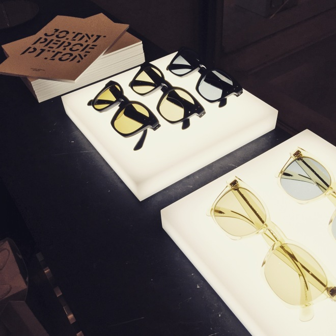 """""""Joint Perception"""" Oliver Peoples"""