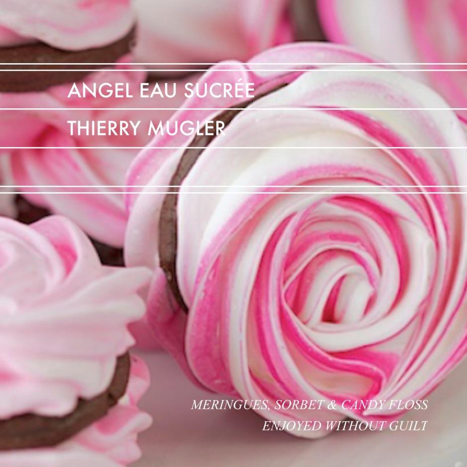 Angel Eau Sucrée // Meringues, Sorbet & Candy Floss