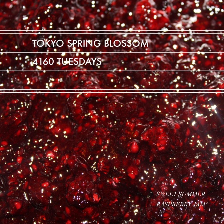 Tokyo Spring Blossom // Sweet Summer Raspberry Jam