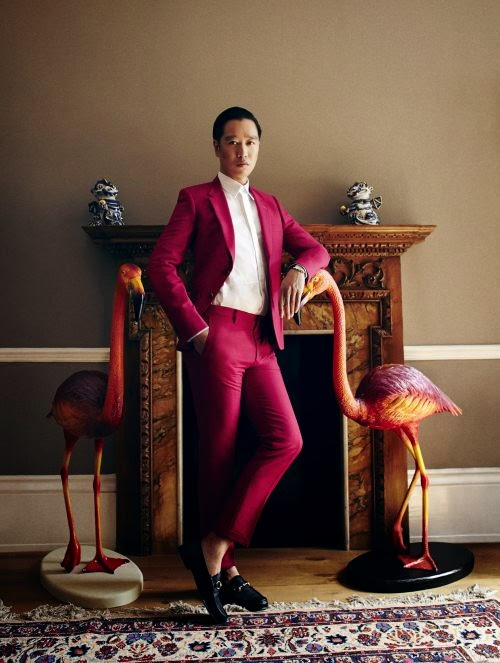 Painted in Red - Christopher Chong, Creative Director of Amouage