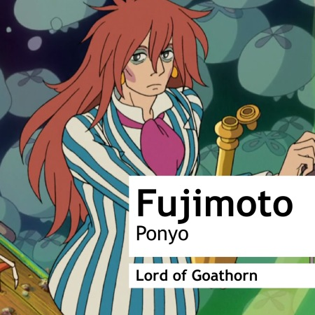 Fujimoto Wears Lord of Goathorn by Gorilla Perfume