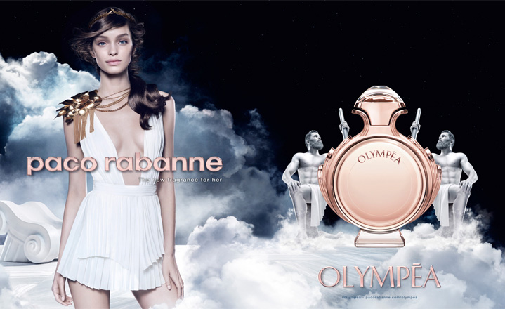 Olympēa - Paco Rabanne's new Goddess