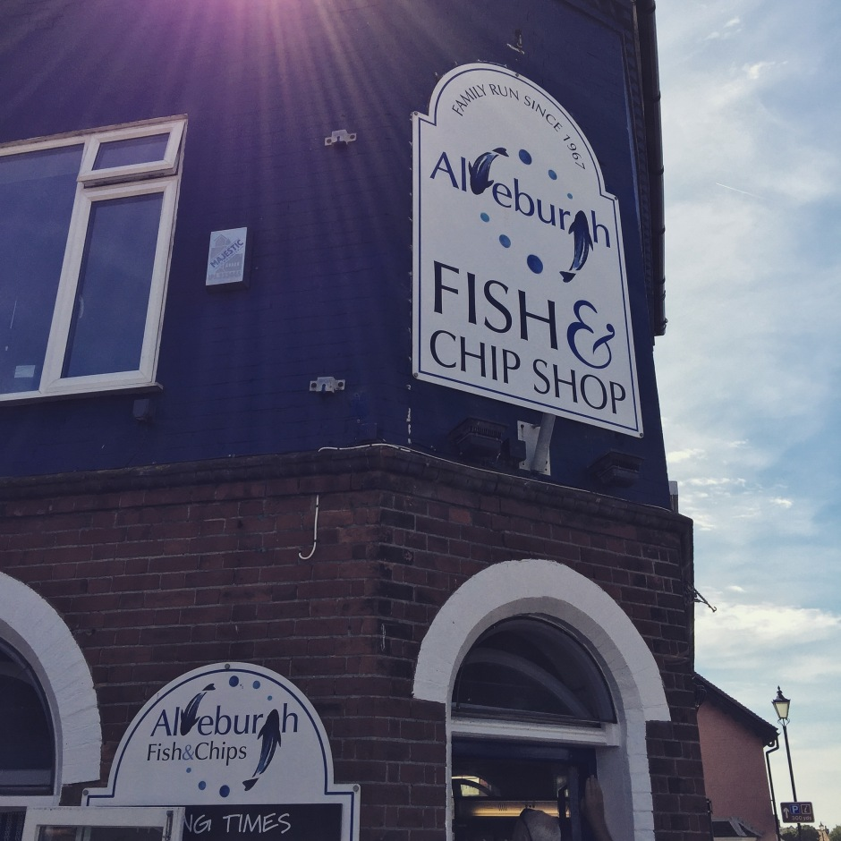 """The sweaty, humid air pouring out of the fish and chip shop is filled with chewy batter, beef dripping and fat. Familiar and strangely irresistible."""