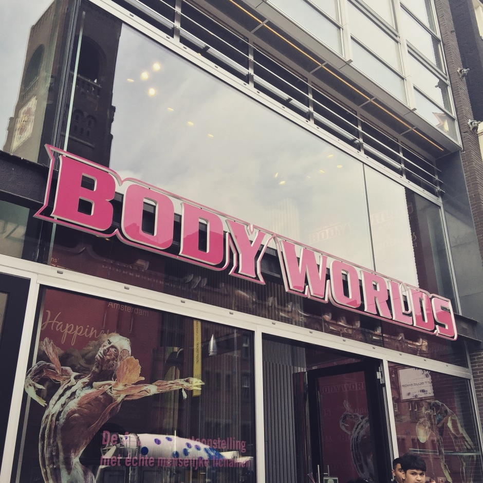 """I'm not sure I want to see what this smells like #BodyWorlds #Amsterdam #ScentedStories"""