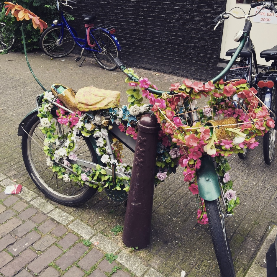 """Apparently I can't have this bike for my tour. Sad face. #Amsterdam"""