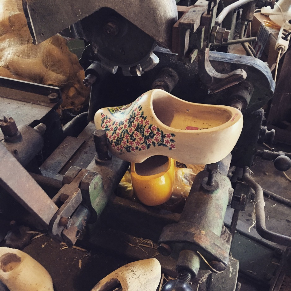 """The smell of the clog workshop is much more subtle - it's dry and oaky with a dusty, metallic air #ScentedStories #Amsterdam"""