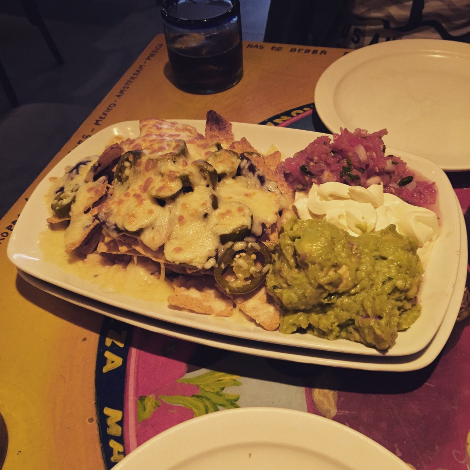 """Even in #Amsterdam there is time for nachos. They smell of mature cheese, onion and piquant jalapeño peppers #ScentedStories"""