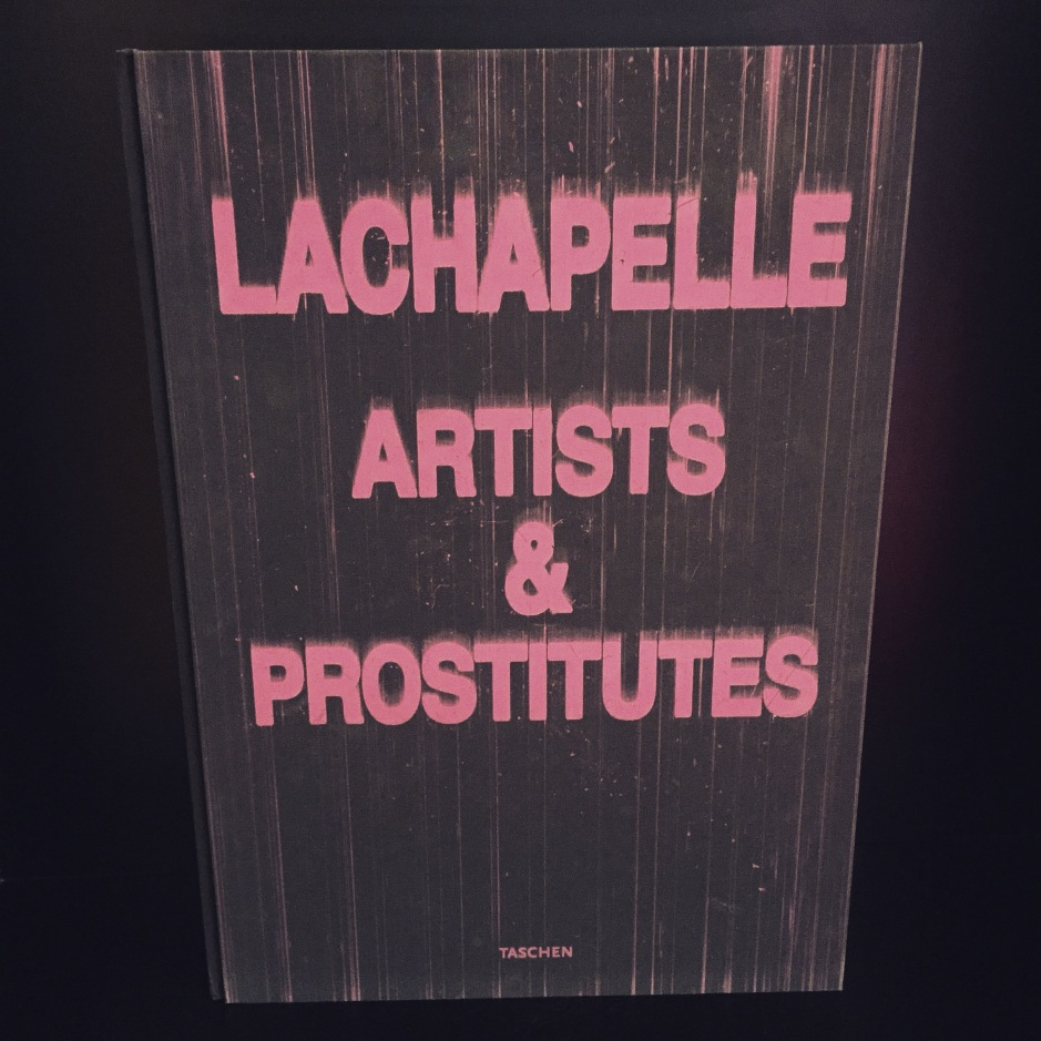 """They have some interesting books in this hotel, especially this aptly named David LaChapelle photo book, which is almost as bi as I am #Amsterdam"""