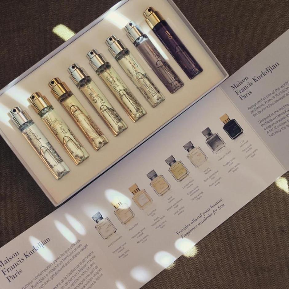 3: Maison Francis Kurkdjian Masculine Fragrance Wardrobe
