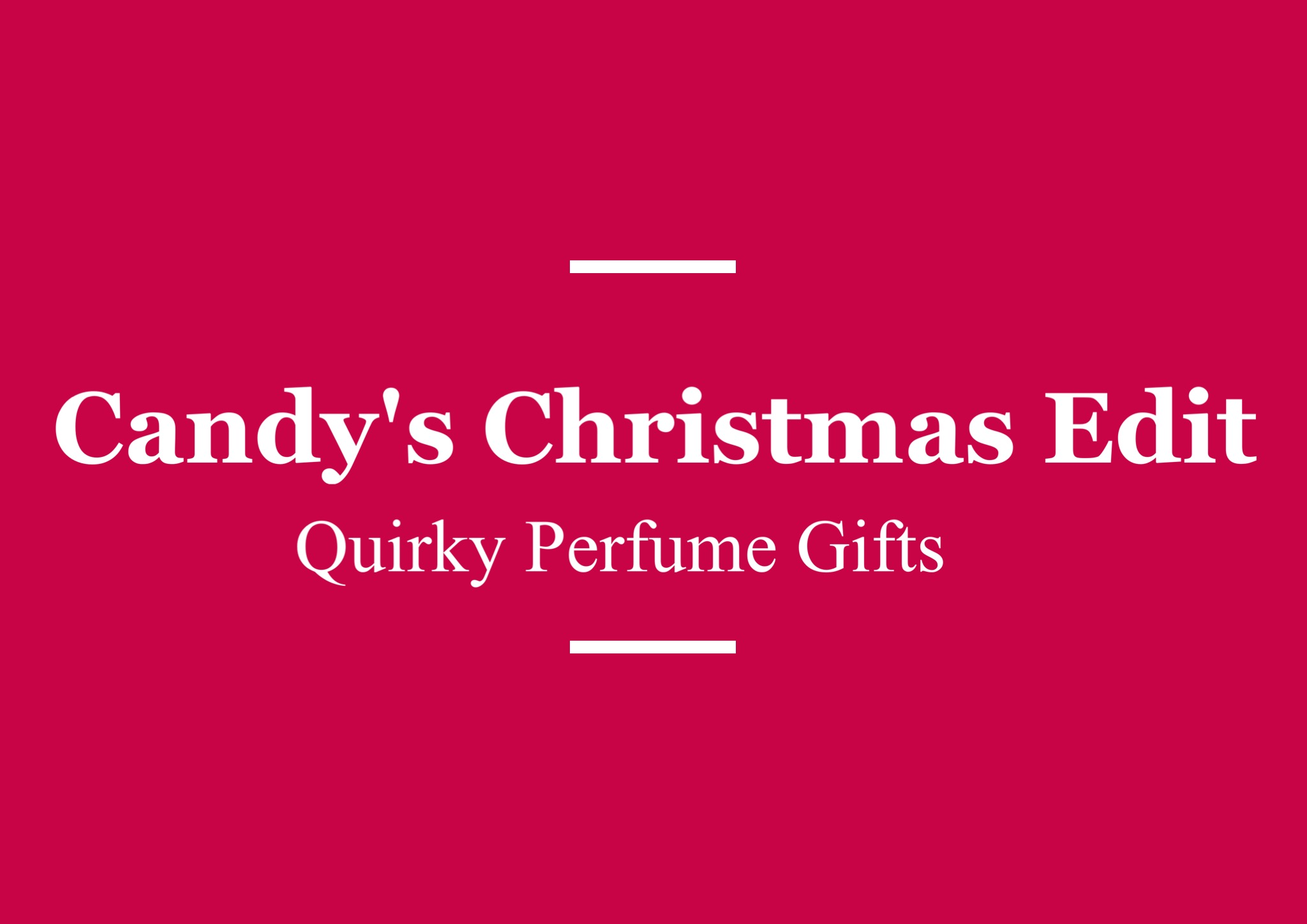 Quirky Perfume Gifts