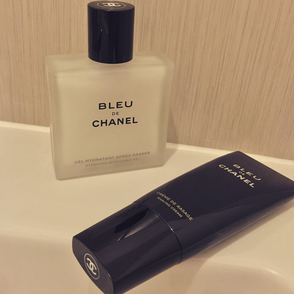 Shave in Style with BLEU DE CHANEL