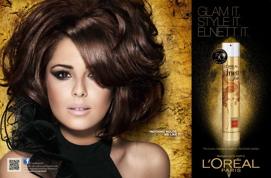It's not just me though, Cheryl Fernandez-Versini-Cole-Tweedy likes Elnett too!