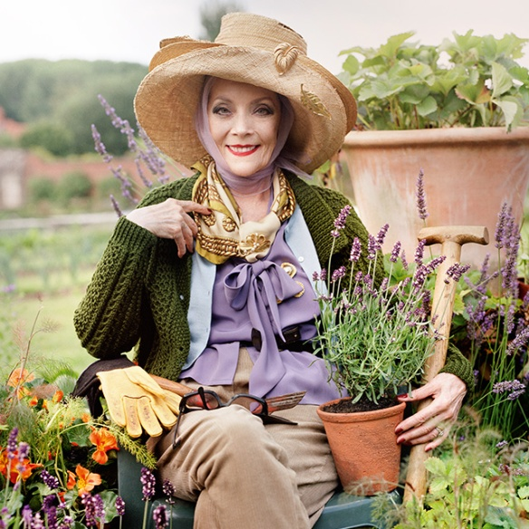 Jo Malone London takes a trip to the herb garden