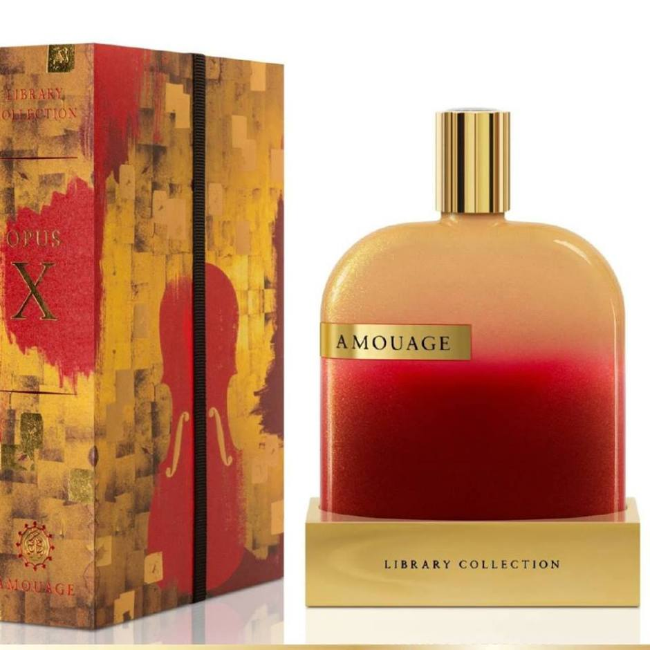 Opus X - Amouage's Tenth Addition to The Library Collection