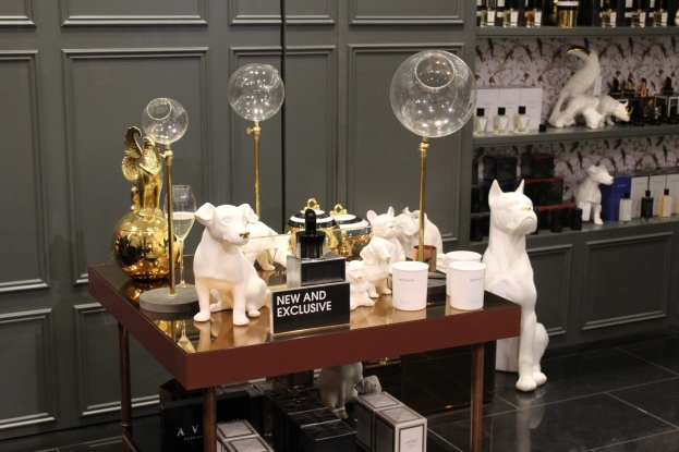 Avery's Menagerie at Selfridges New Niche Fragrance and Candle Space